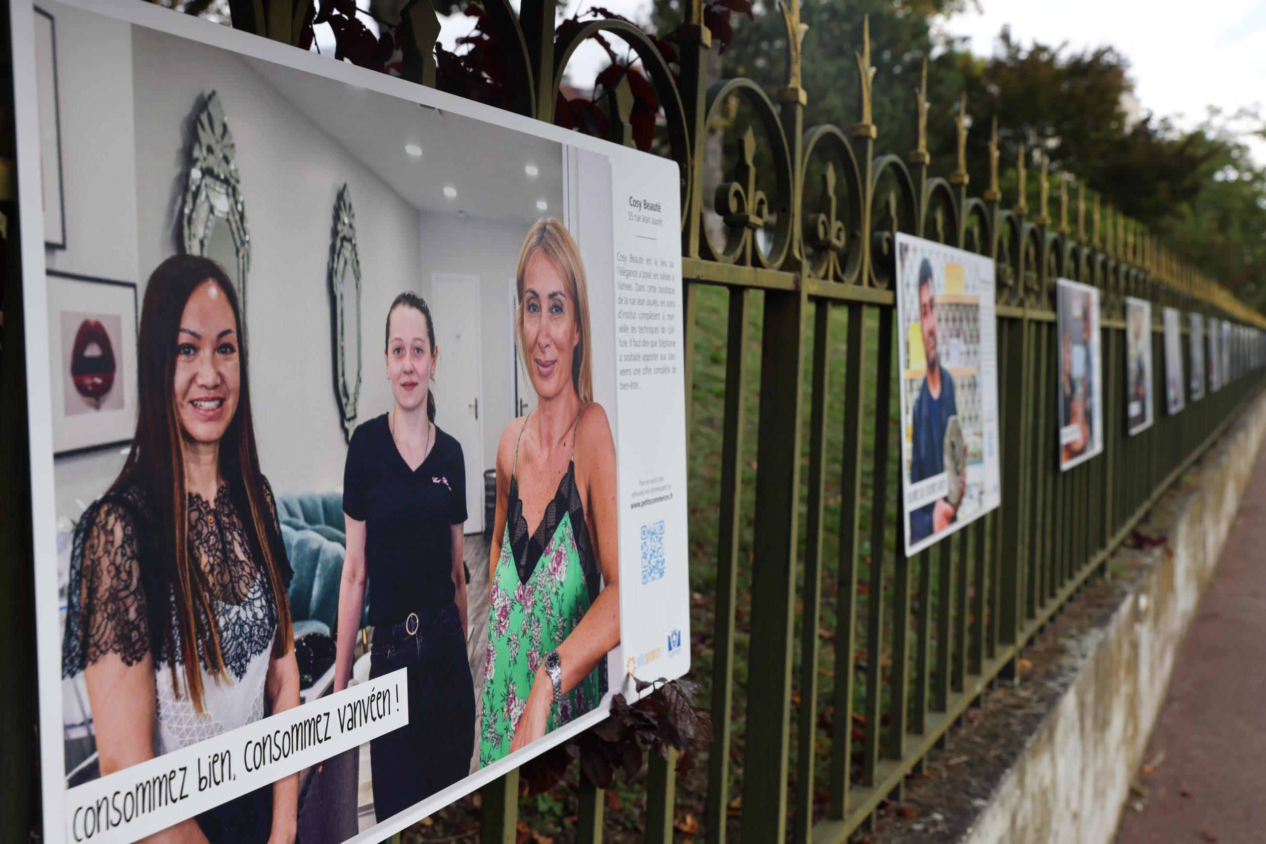 La Mairie de Vanves lance une expo photo avec Petitscommerces