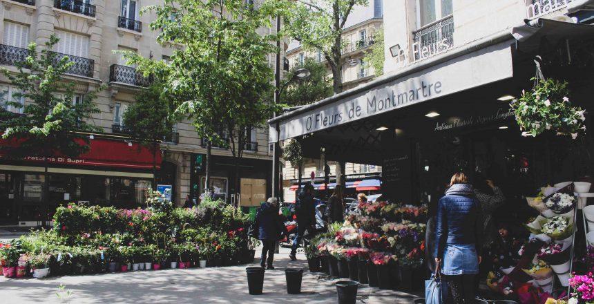 Fleuriste O Fleurs de Montmartre Paris 18