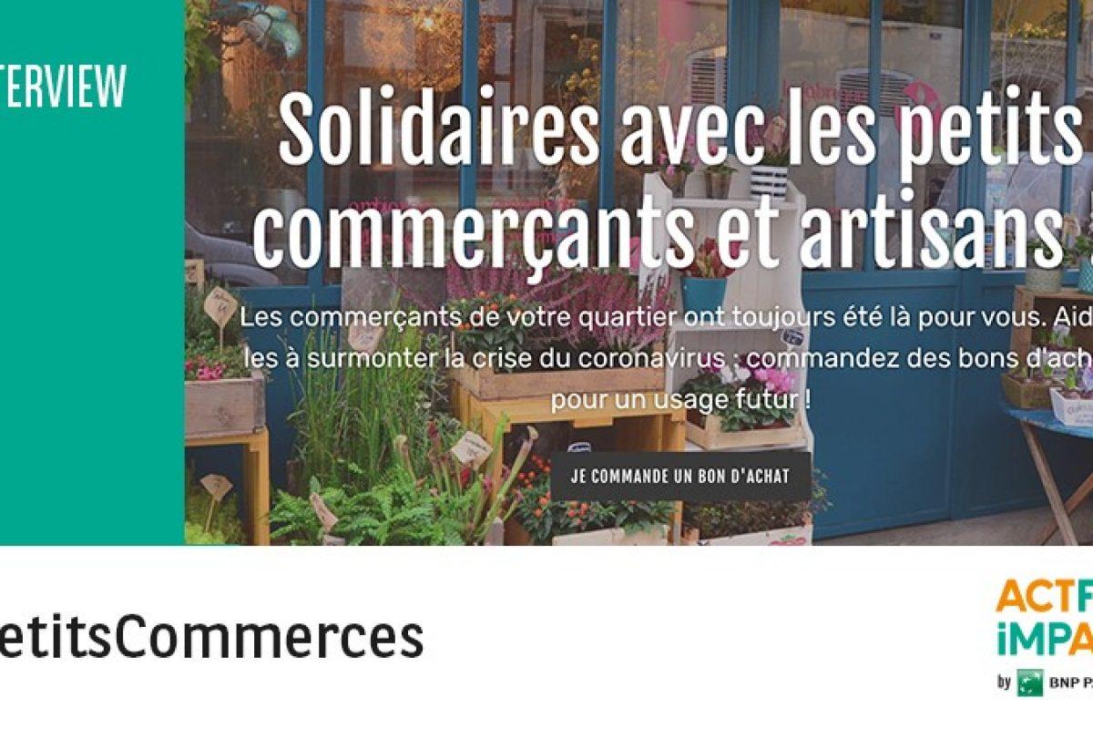 L'nterview des fondateurs de Petitscommerces par Act For Impact by BNP Paribas