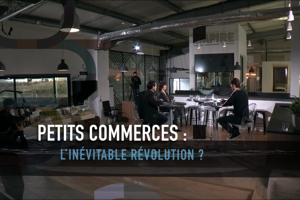 Petits commerces, l'inévitable révolution ? Notre participation au débat sur France 3 !