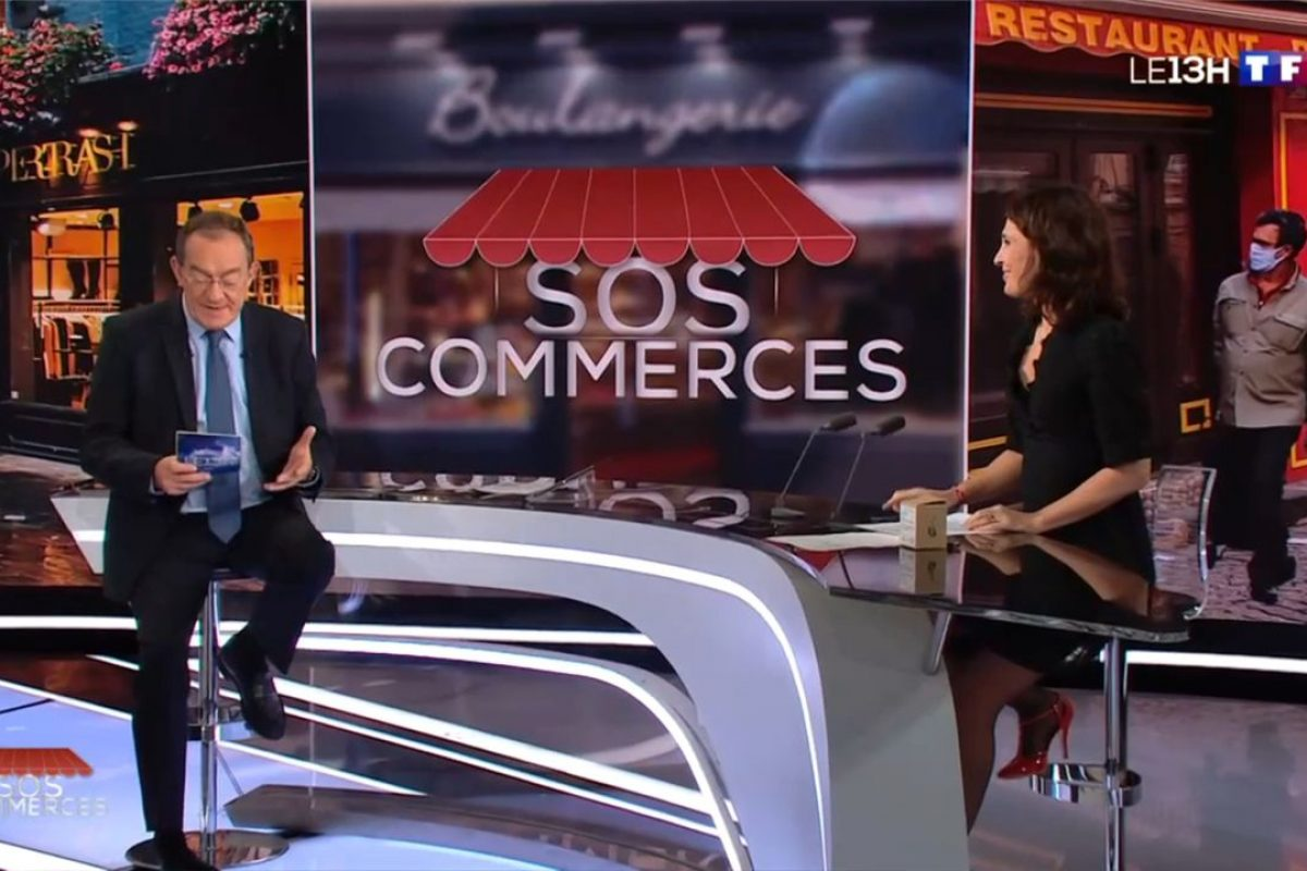 SOS Commerces - TF1 met en avant les plus belles initiatives pour soutenir les petits commerces !2