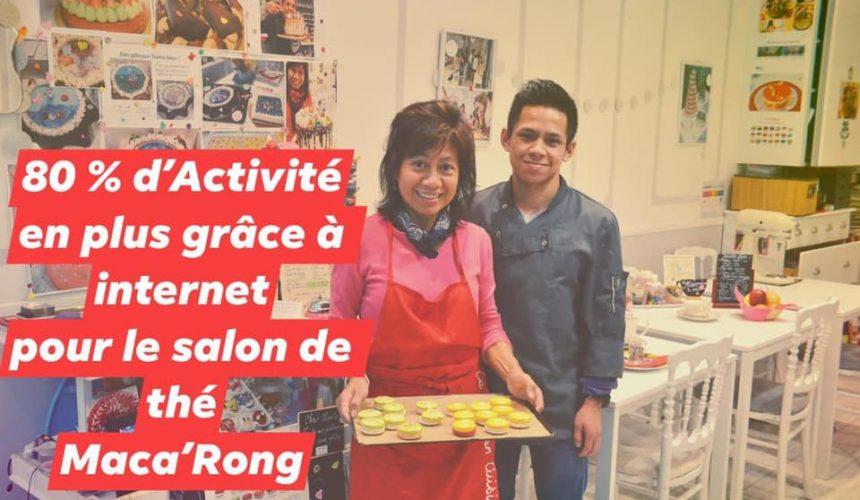 Témoignage de la pâtisserie Maca'Rong à Paris accompagnée par Petitscommerces et France Num