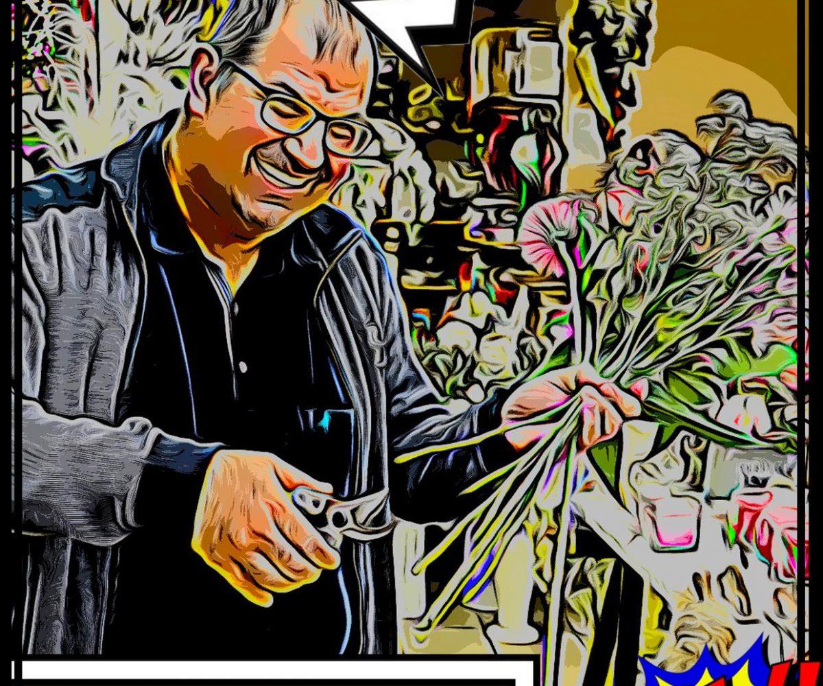 Ville de Capavenir Vosges Heros Commerçants campagne de communication soutien commerce local petitscommerces.fr fleuriste 2