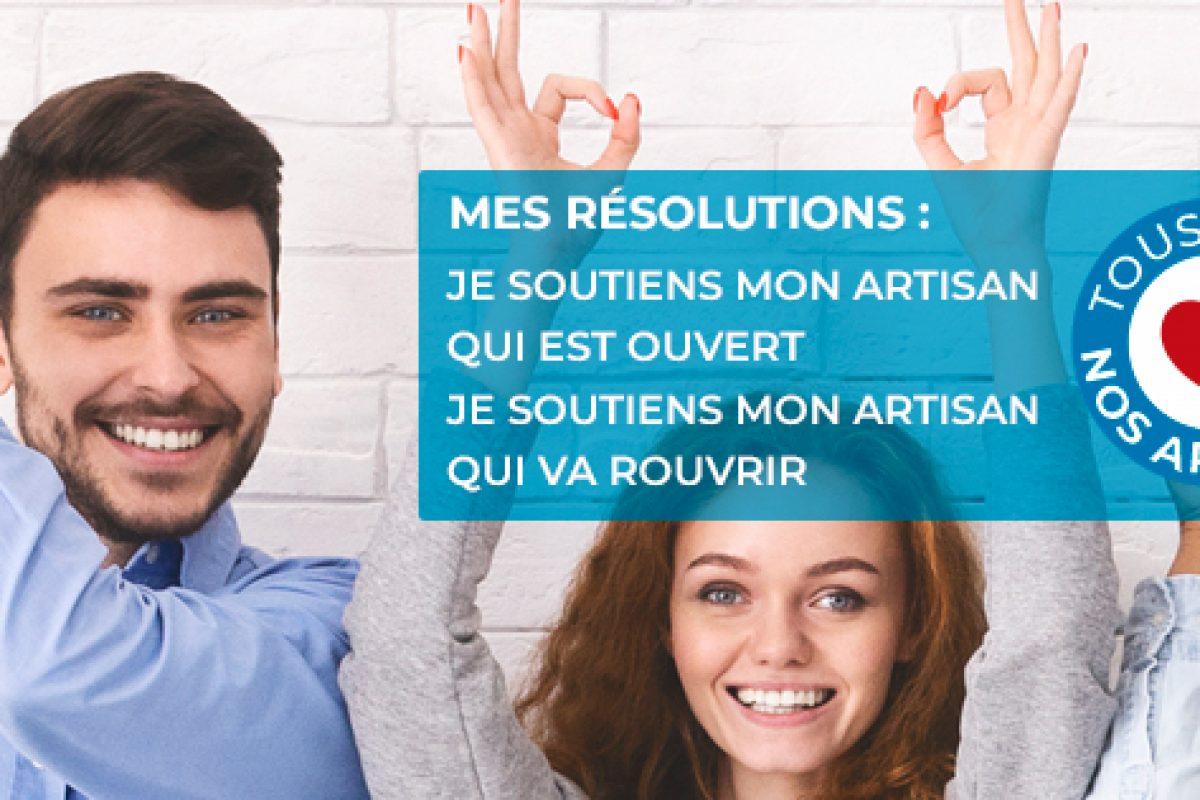 banniere CMA France Petitscommerces #TousAvecNosArtisans