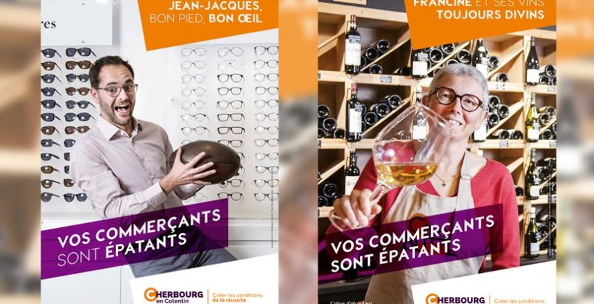les-commercants-de-cherbourg-en-cotentin-se-tapent-laffiche-blog-petitscommerces