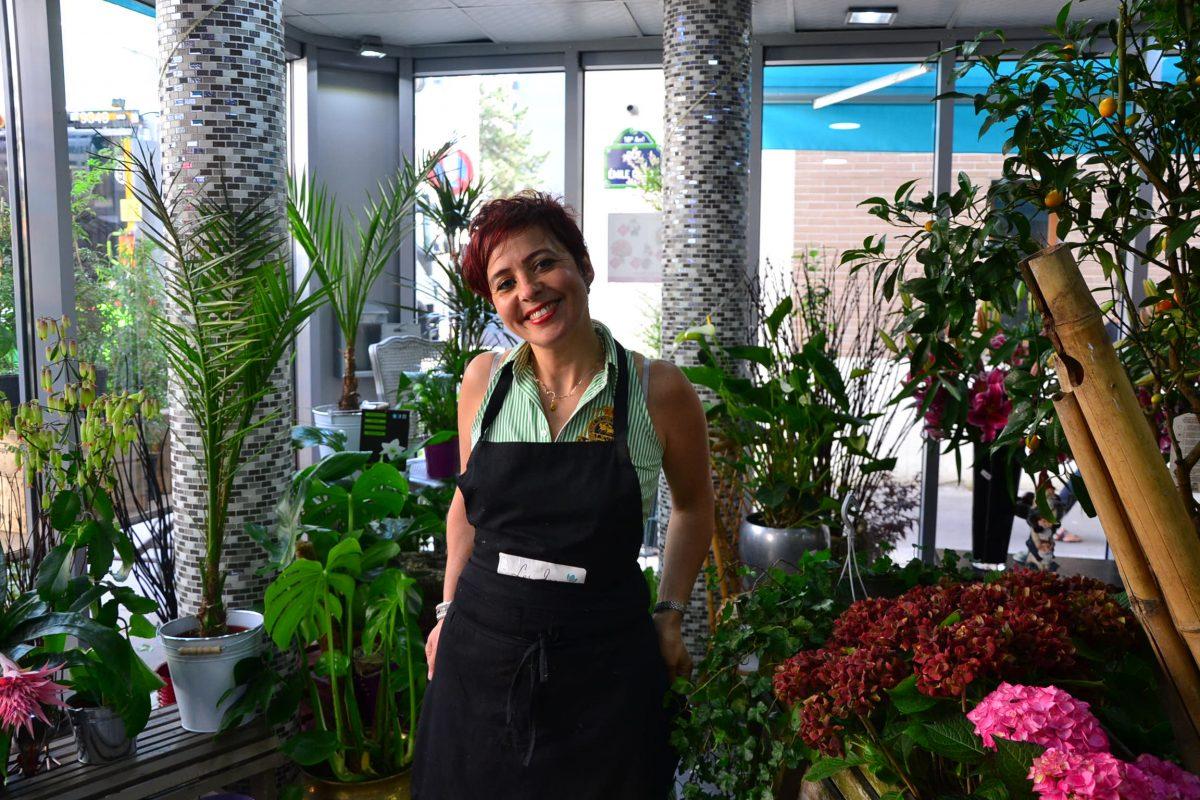 Les Jardins d-Andalousie fleuriste fleurs 2 paris 18 marcadet poissonniers petit commerce Yasmine www.petitscommerces.fr