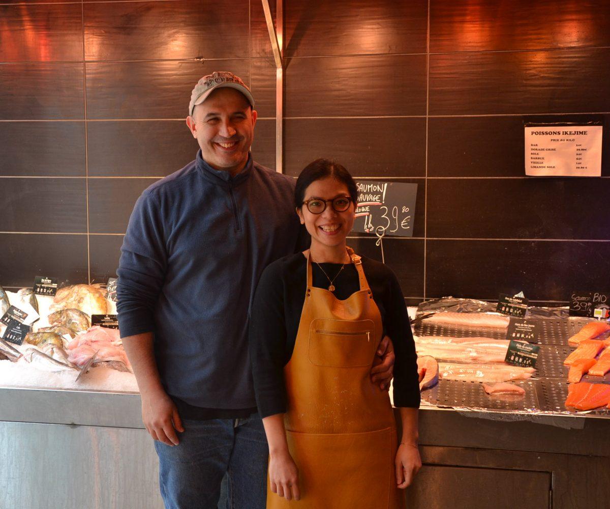 poissonnerie-restaurant-ebisu-rue-du-chemin-vert-paris-11-poissons-frais-quiberon-patrick-fernandez-et-thi