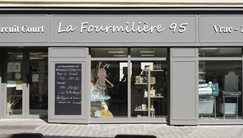 La-fourmilliere95 Gonesse Epicerie-bio-et-vrac devanture