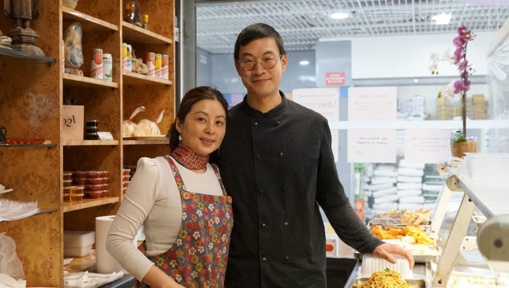 Meng-Hoa -Garge-les-gonesse traiteur-asiatique Alain-Phonebanhdith-et-sa-femme-Benita-Cho