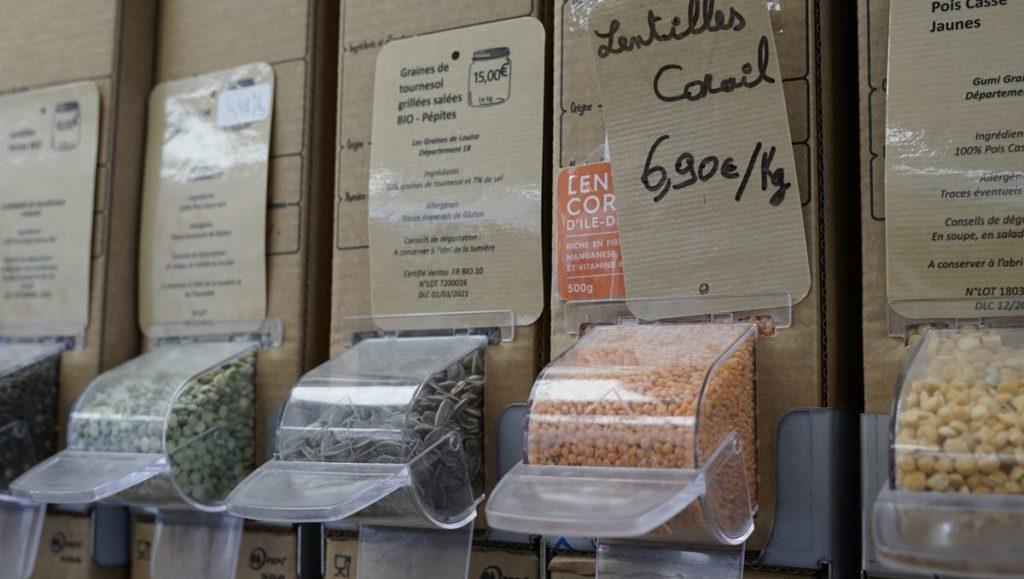 La-fourmilliere95 Gonesse Epicerie-bio-et-vrac legumes-sec-vrac-au-poids