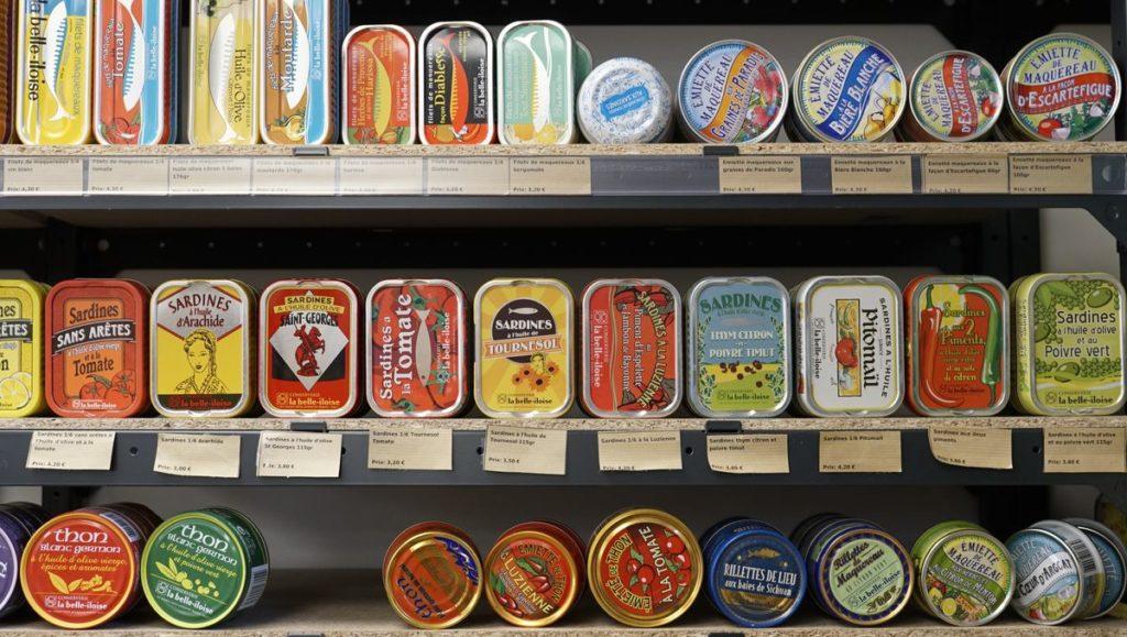 La-fourmilliere95 Gonesse Epicerie-bio-et-vrac sardines