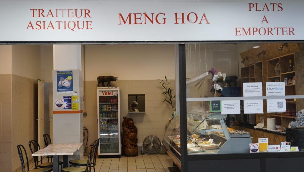 Meng-Hoa -Garge-les-gonesse traiteur-asiatique devanture