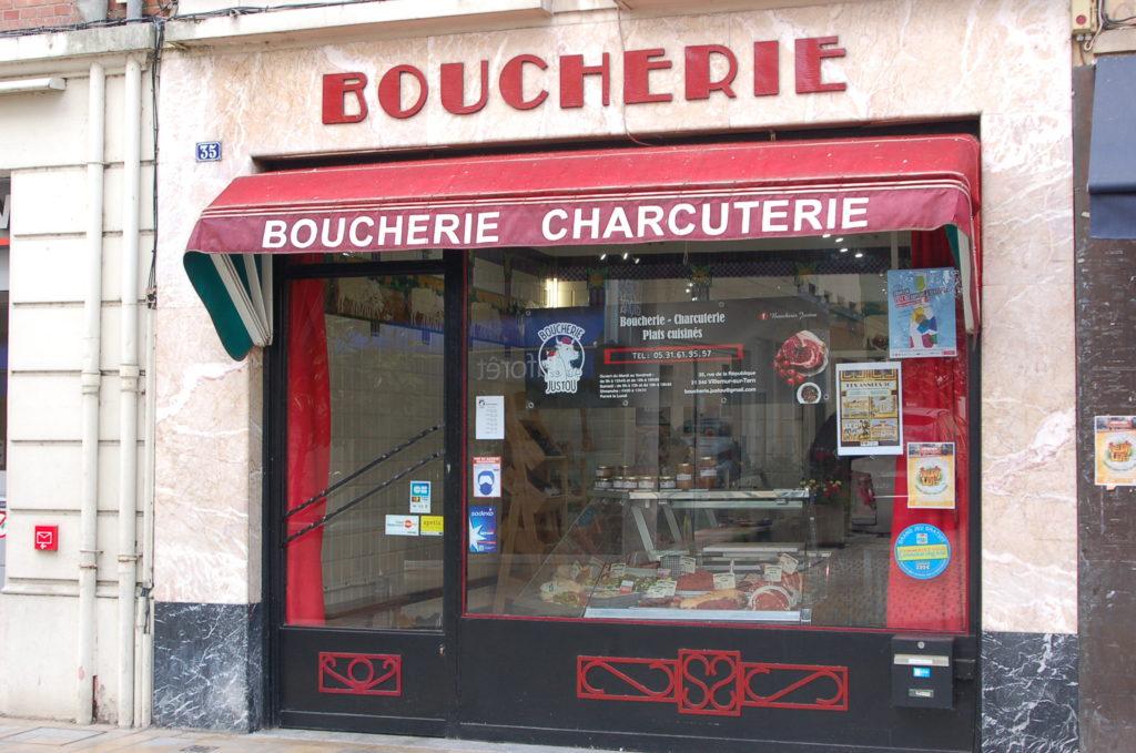 Boucherie-Justou-Villemur-sur-Tarn-devanture